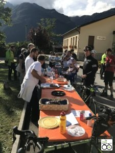 Checkpoint in Soverzene (ITA) © My Lovely Cycling
